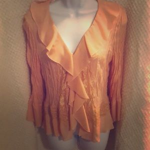 Allison Taylor blouse size large